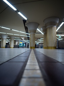 OLYMPUS DIGITAL CAMERA - These Images where captured in a Subway-Station in the City of Frankurrt.