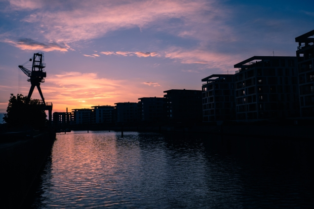 Captured at the river banks in Offenbach.