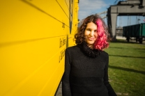 This Portrait was shot during a photo walk along the River Main from the east of Frankfurt towards Offenbach.